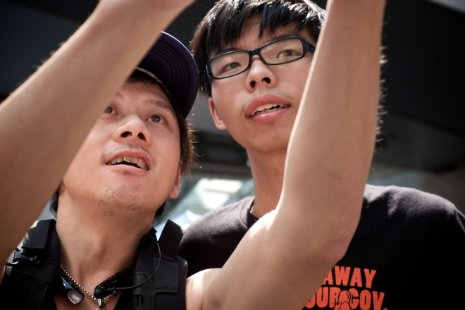 """The media's fetishisation of Joshua Wong as a single person to describe a complex movement of many people is getting a bit over the top"". - Jerome Taylor, Editor of Agence France Presse,"